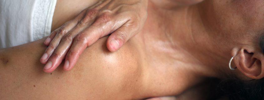 Hände und Massage